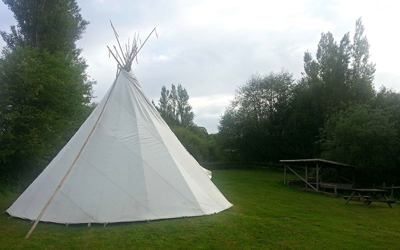 Isle of Wight Tipi Holidays