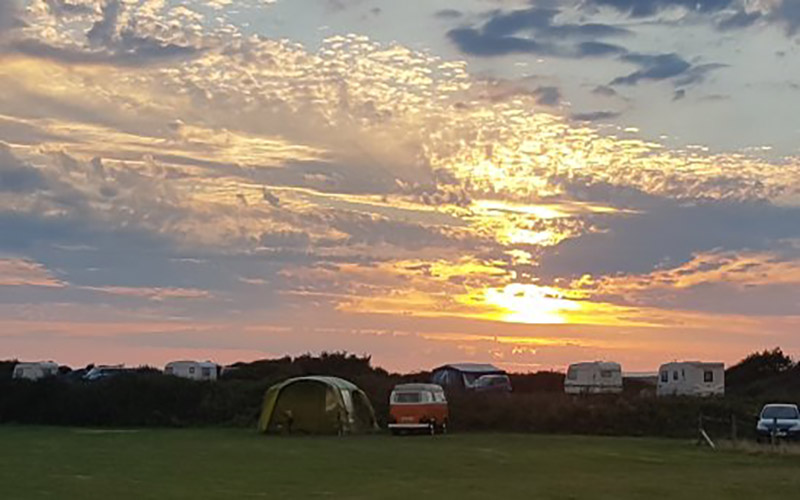 Chine Farm Caravan and Camping Site on Isle of Wight